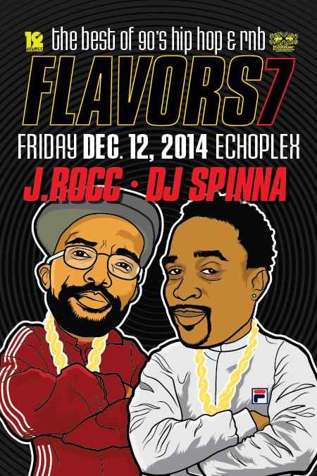 DJ Spinna & J.Rocc at Echoplex