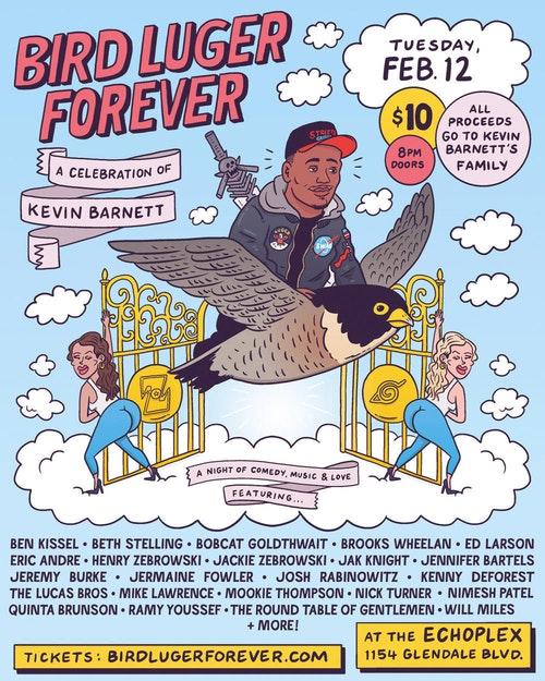 Bird Luger Forever: Ben Kissel, Beth Stelling & Bobcat Goldthwaite at Echoplex