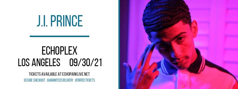J.I. Prince at Echoplex