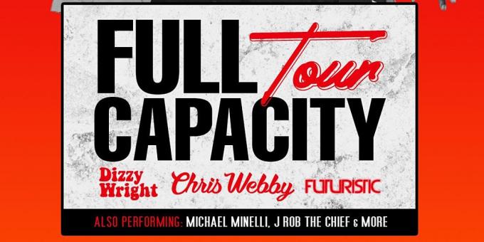 Chris Webby, Dizzy Wright & Futuristic at Echoplex